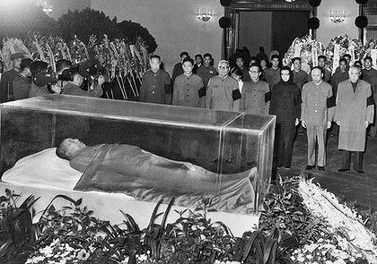 stalin body the body of chinese leader mao zedong lies