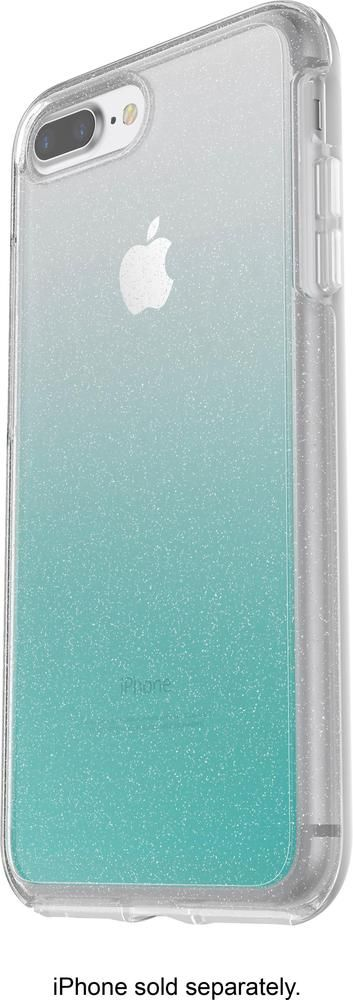 huge discount 4a53f 4399f OtterBox - Symmetry Series Case for Apple® iPhone® 8 Plus - Clear ...