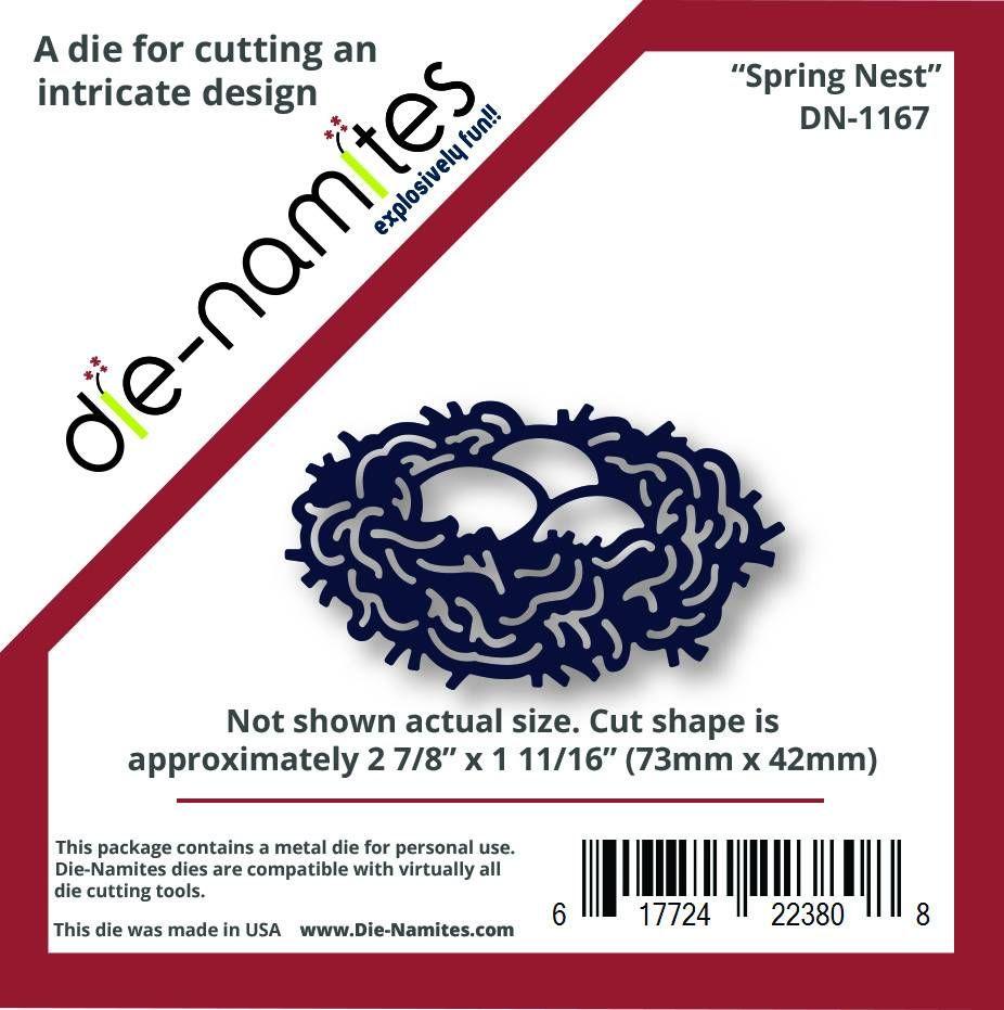 Dienamites spring nest dies birds pinterest nest and craft