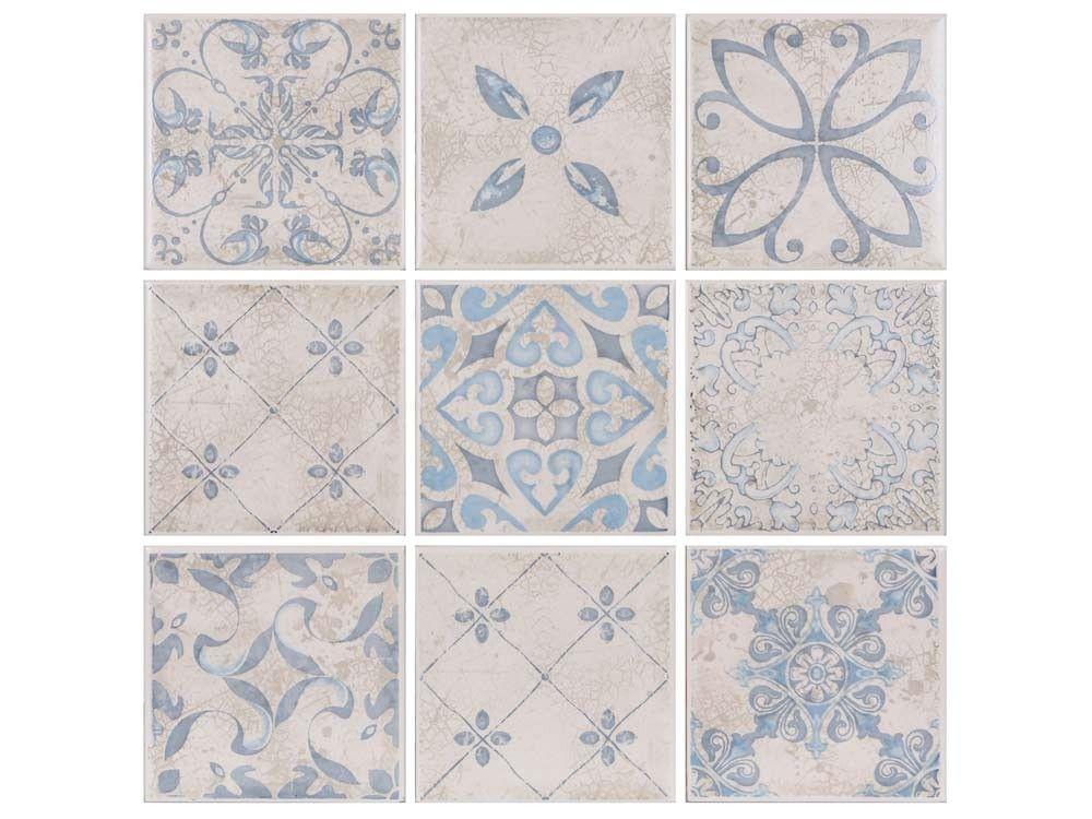 Sorrento Ceramic Mosaic 100mm X 100mm Ctm Mosaic Decor Mosaic Tiles Mosaic