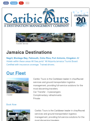 Jamaica Transfer Service Airports Hotels And Cruise Ship Ports