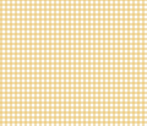 Yellow_Gingham_Checks fabric by lana_gordon_rast_ on Spoonflower - custom fabric from my fabric collection Vintage 1950 lots more to this collection