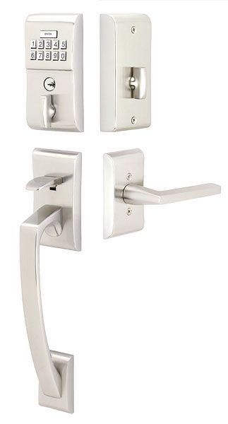 modern brass keypad entryset contemporary lock sets electronic