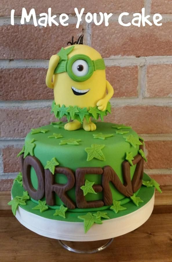 I Love Minions By Sonia Parente Minion Cakes Pinterest Minion