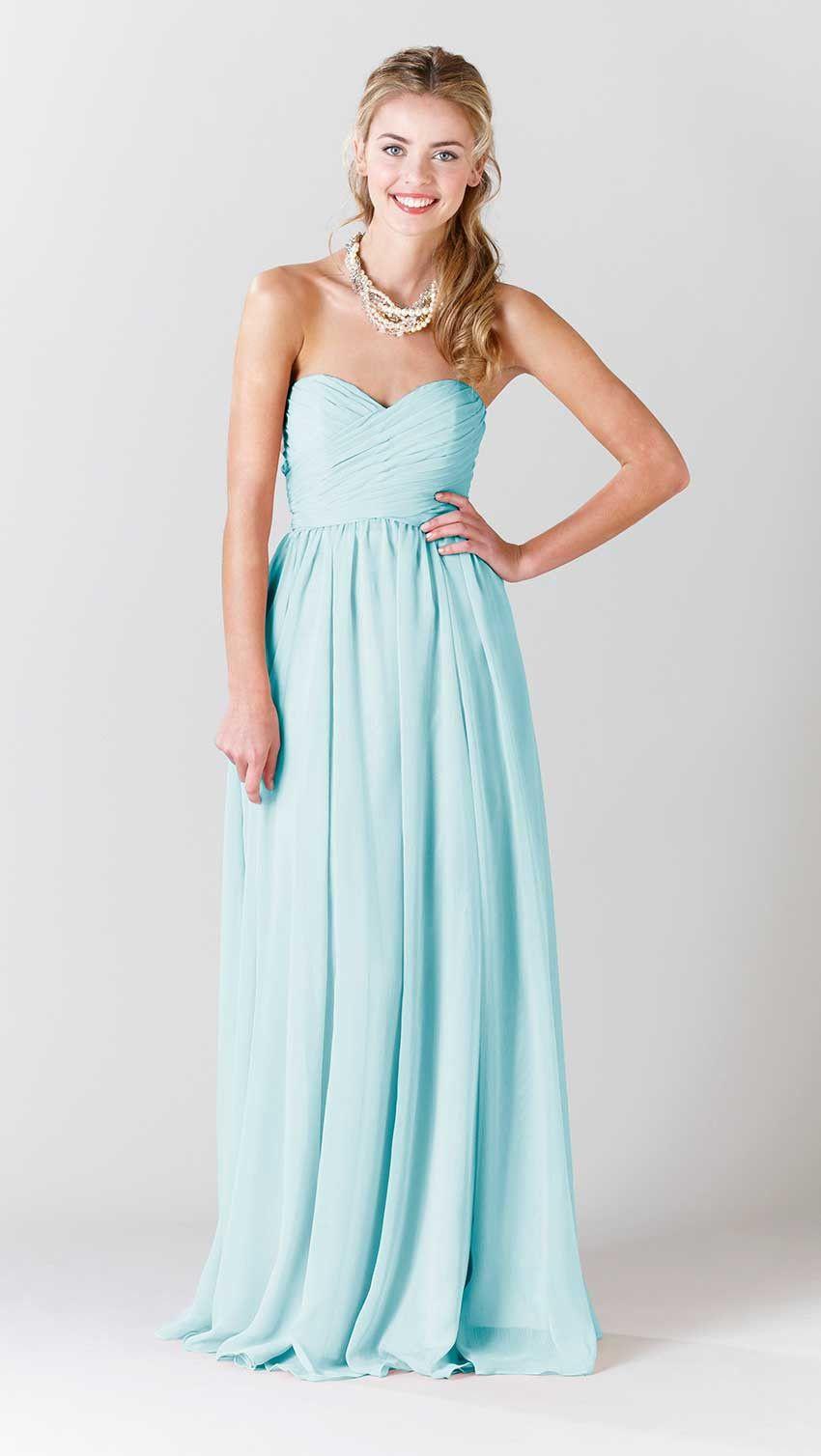 Olivia chiffon fabric chiffon bridesmaid dresses and bodice