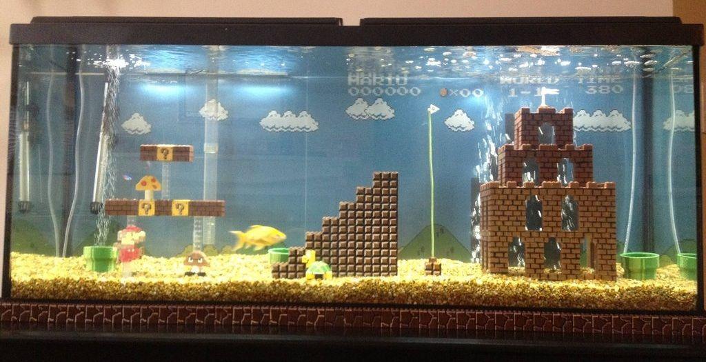 O aquário dos sonhos de qualquer nerd - Blog do Braian