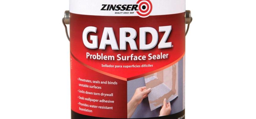 Introducing Gardz By Zinsser Surface Wall Sealer Drywall