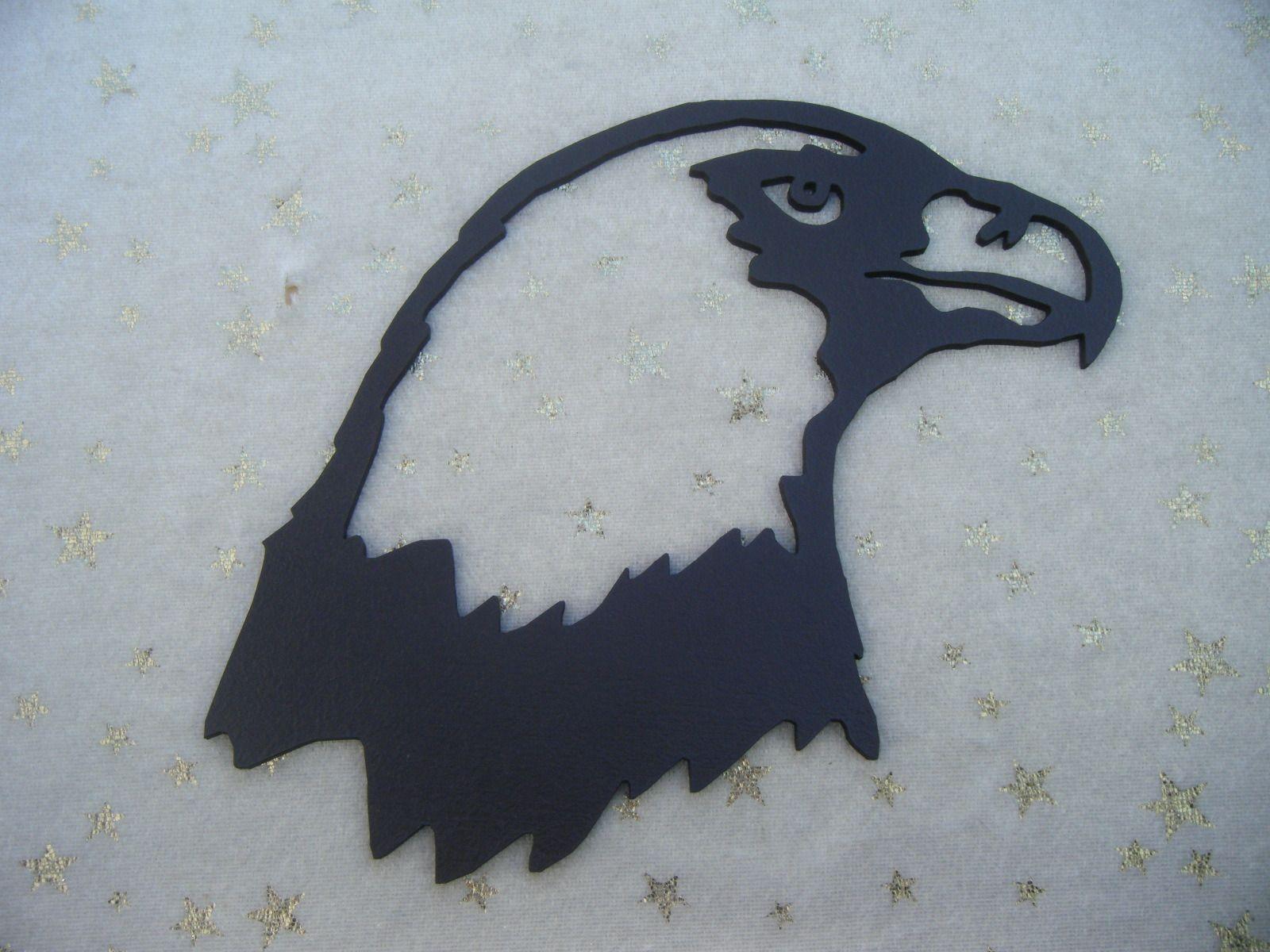 T te d 39 aigle royal en bois d coup et peint tableau - Comment dessiner un aigle royal ...