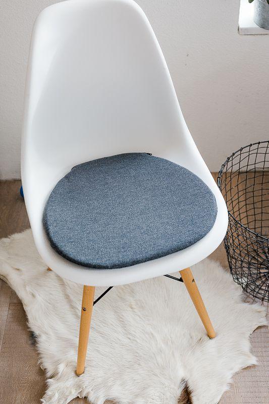 Sitzkissen für Eameschair bei Etsyshop Pomponetti Interior
