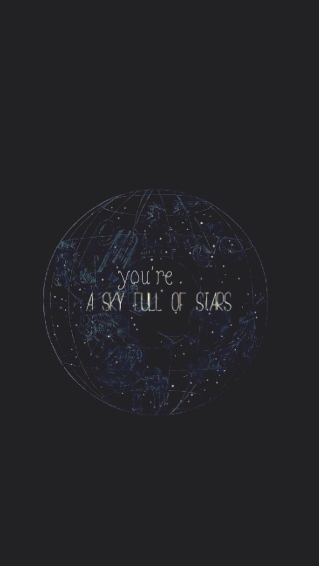 a sky full of stars lockscreens (With images) Phone