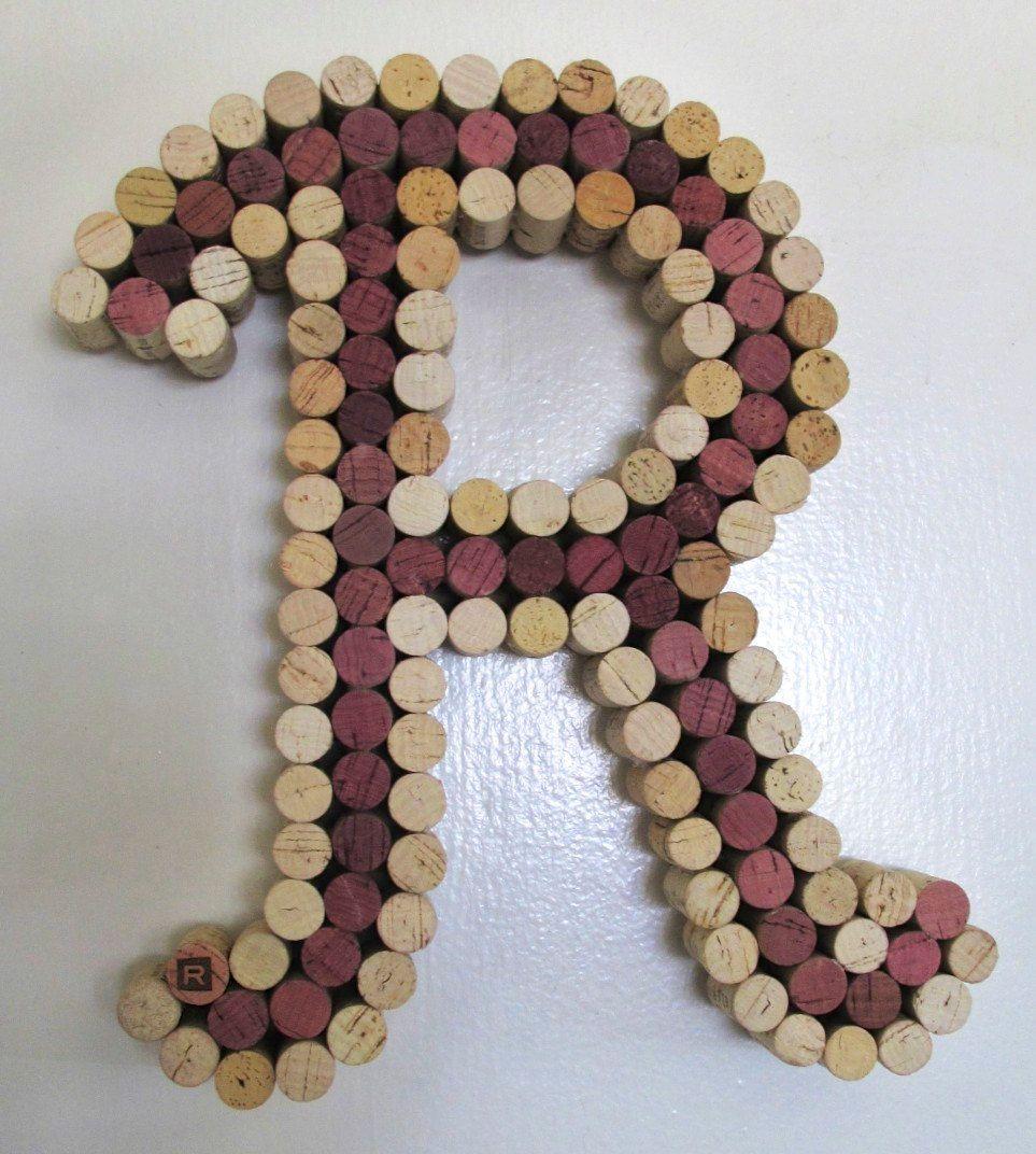 Wine Cork Letter Cork Artnow that Iu0027ve