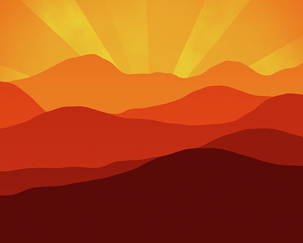 Forever Sunset by Georgiana Romanovna