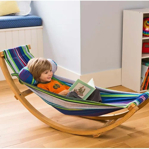 Magic Cabin Rocking Floor Hammock with Stand & Reviews