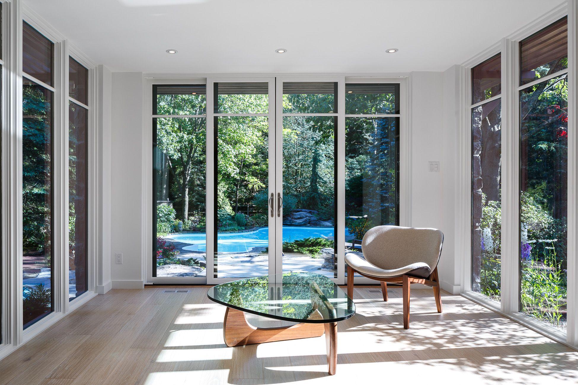 modern architecture christophersimmonds garden ottawa