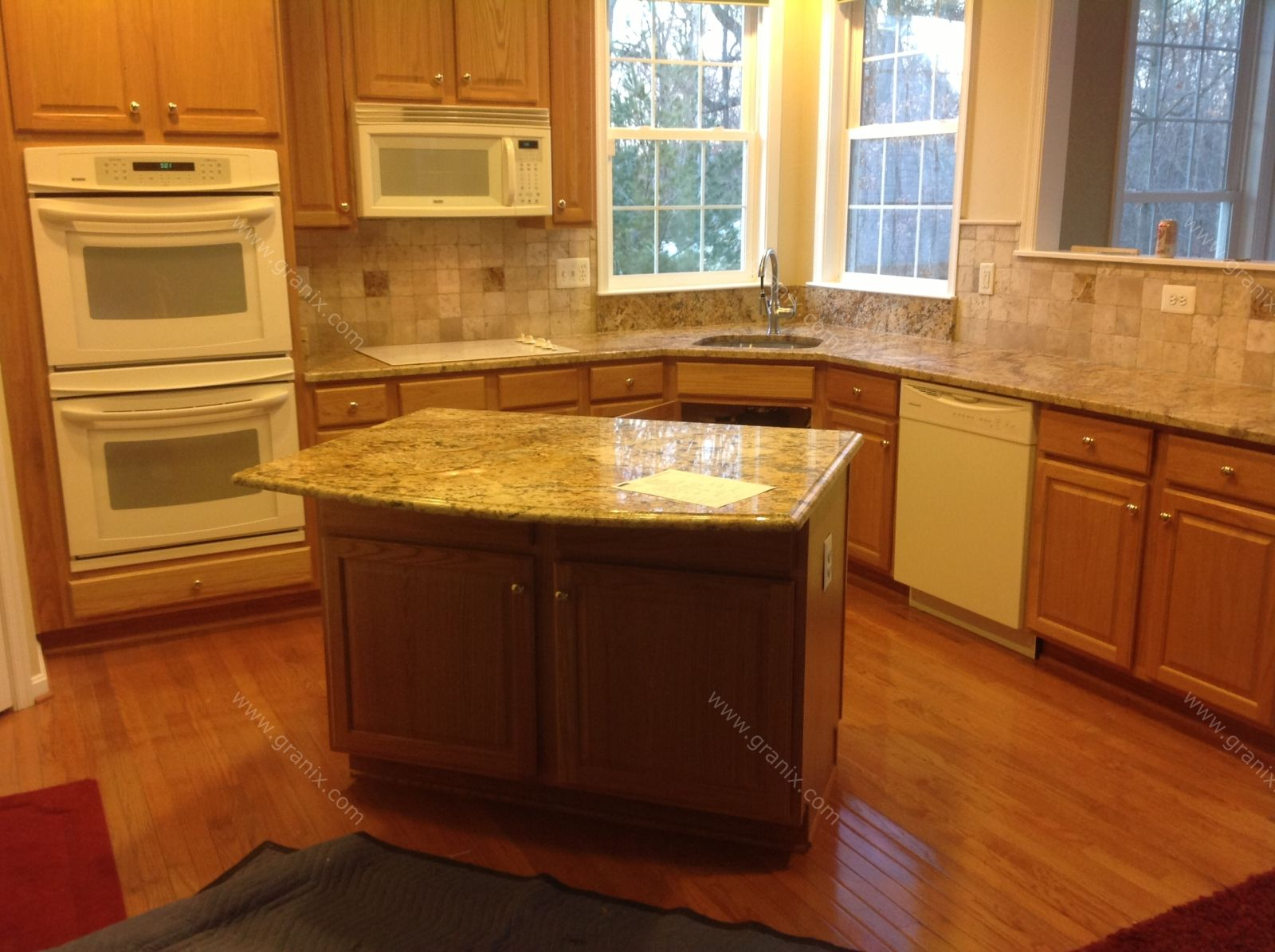 Solarius granite pictures google search samples for Backsplash ideas quartz countertops