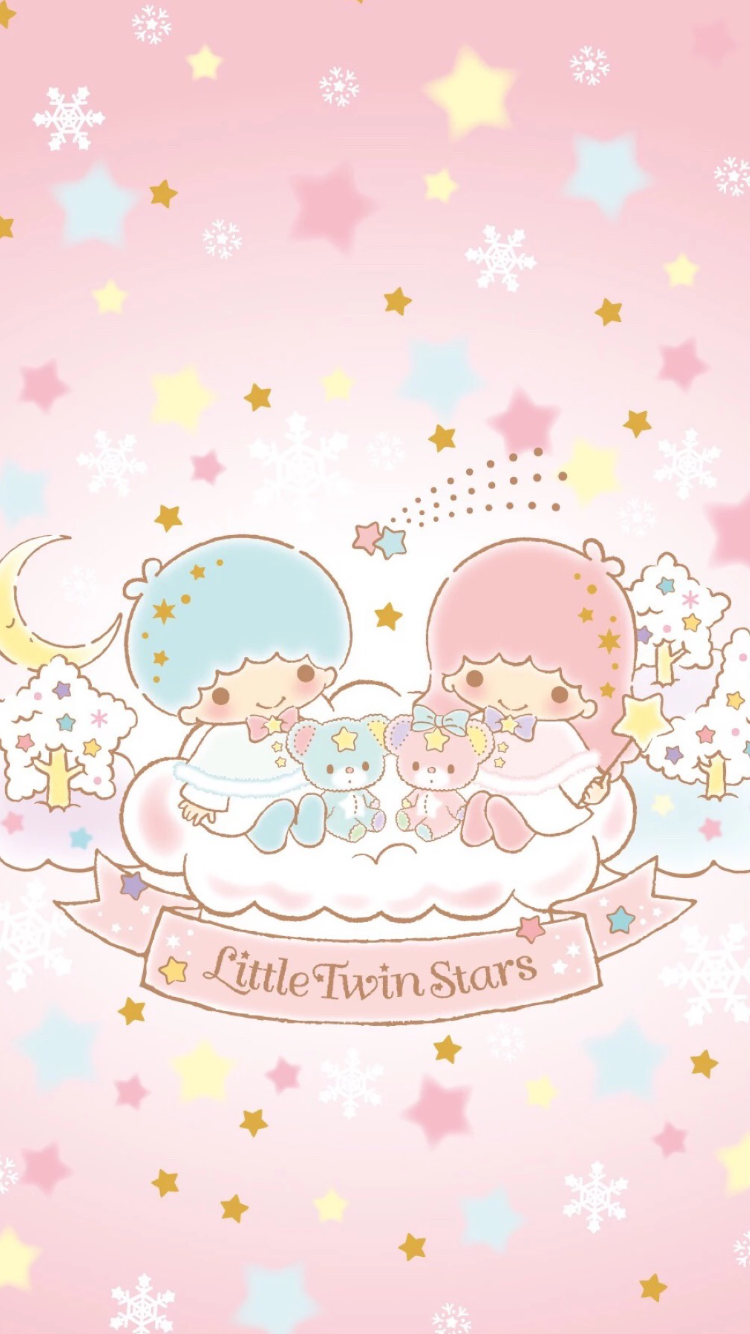 Pin By Wong On Little Twin Stars Little Twin Stars Wallpaper Iphone Cute Sanrio Wallpaper