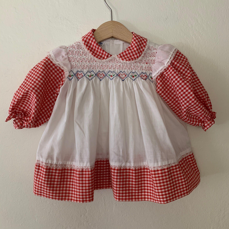 Vintage Polly Flinders Dress Vintage Baby Girls Dress Vintage Baby Dress Size 12 Months Vintage Baby Dresses Vintage Girls Dresses Vintage Baby Girl