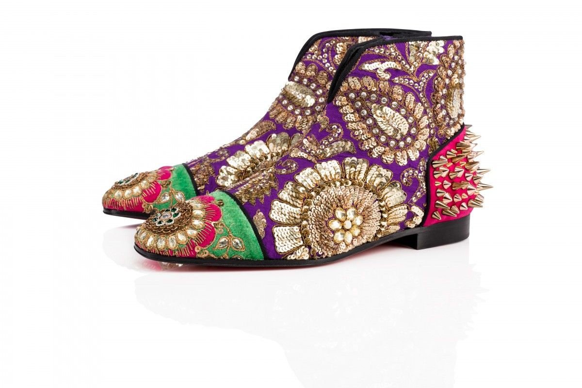 8d81daec47f Christian Louboutin Launches Capsule Collection With Sabyasachi ...