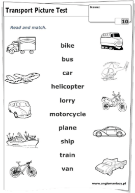 transportes | Word Families | Pinterest | English and ...