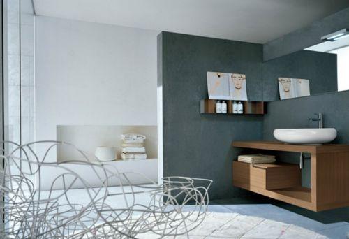 Regal Badezimmer ~ Badezimmer design holz regal schublade waschbecken badezimmer