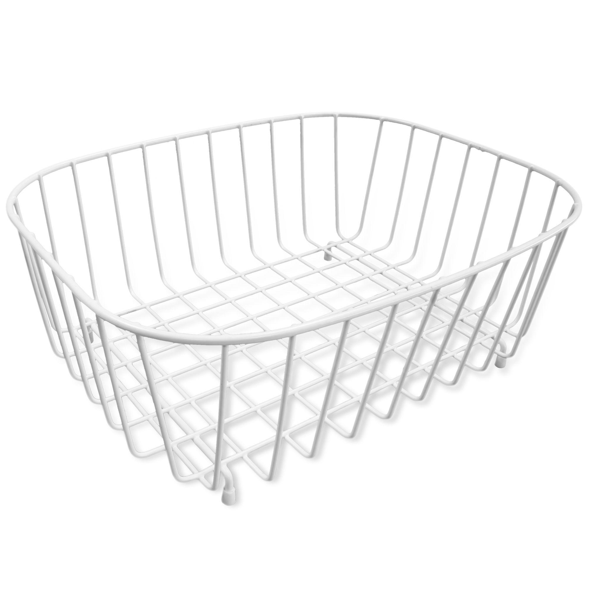 Cooke & Lewis White Kitchen Basket | Departments | DIY at B&Q ...