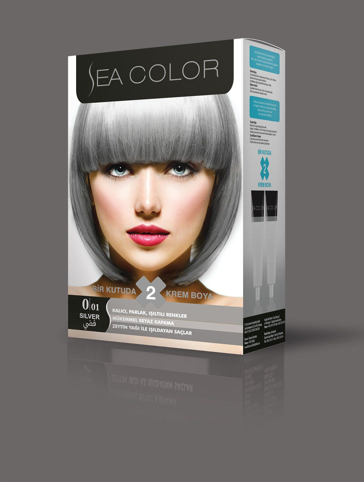Silver Hair Coloring Products Beautiful Sea Color Lila