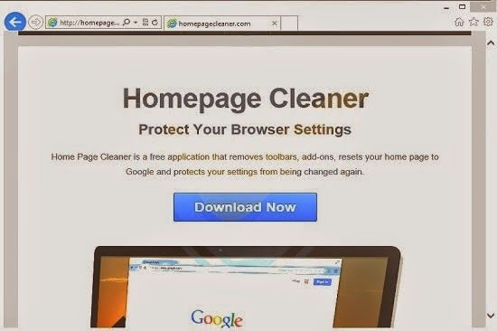 Home Page Cleaner is a noxious browser extension that is