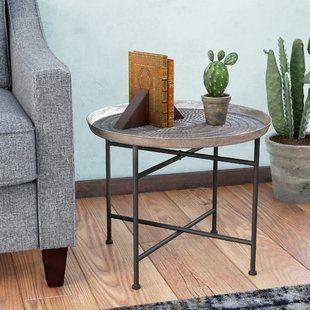 Slide Under Sofa Tray Table Wayfair Coffee Table End