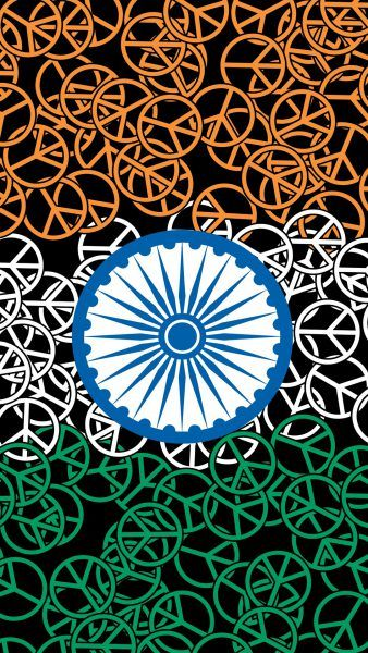 File to download for India Flag for Mobile Phone Wallpaper