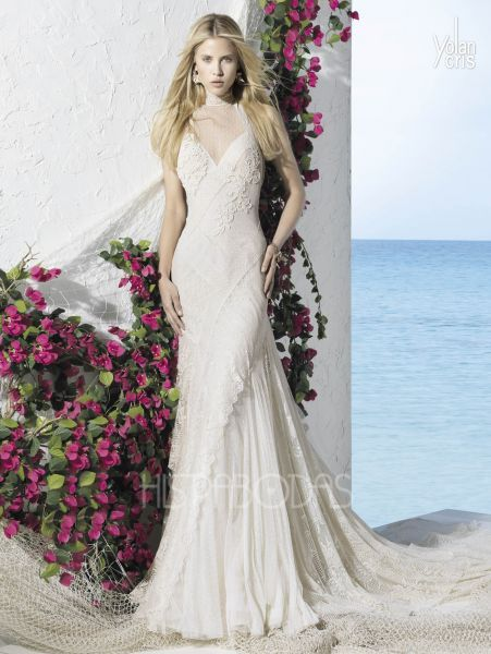 modelo argelia vestidos de novia ibicencos yolan cris 2013