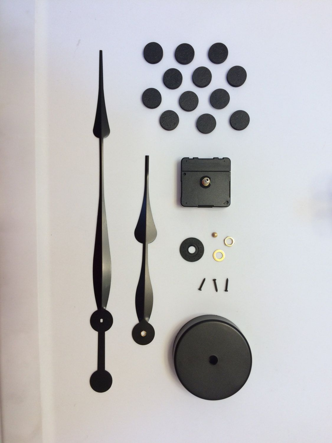 Large wall clock kit choose your hand length wall clock kits be creative and make your own wall clock with this kit your package will include amipublicfo Image collections