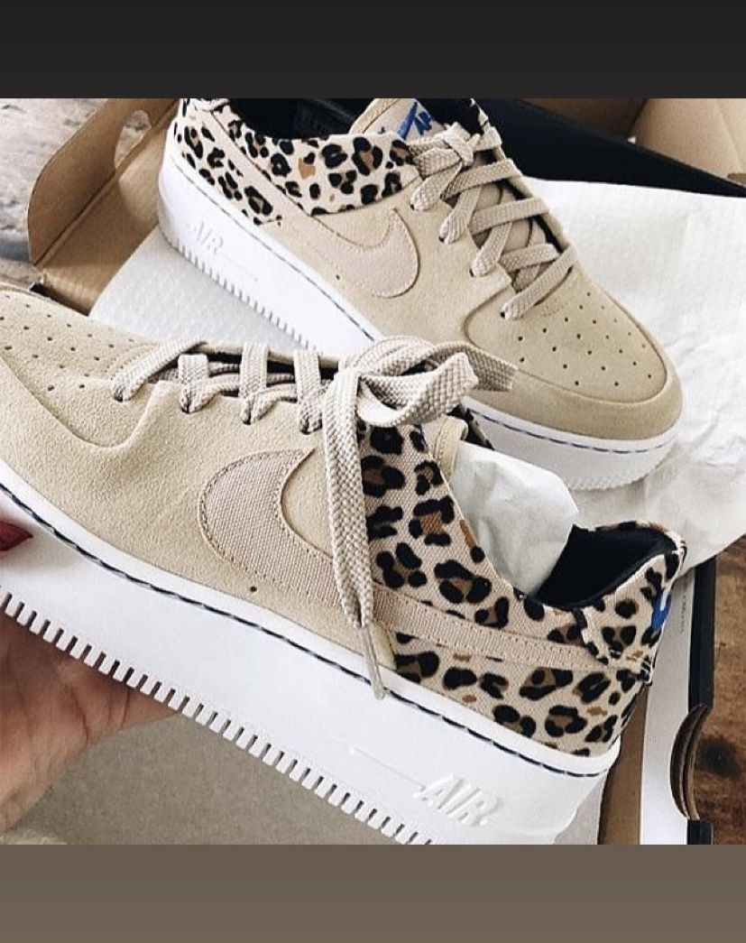 Animal Print Air Force 1 | Leopard print sneakers, Nike ...