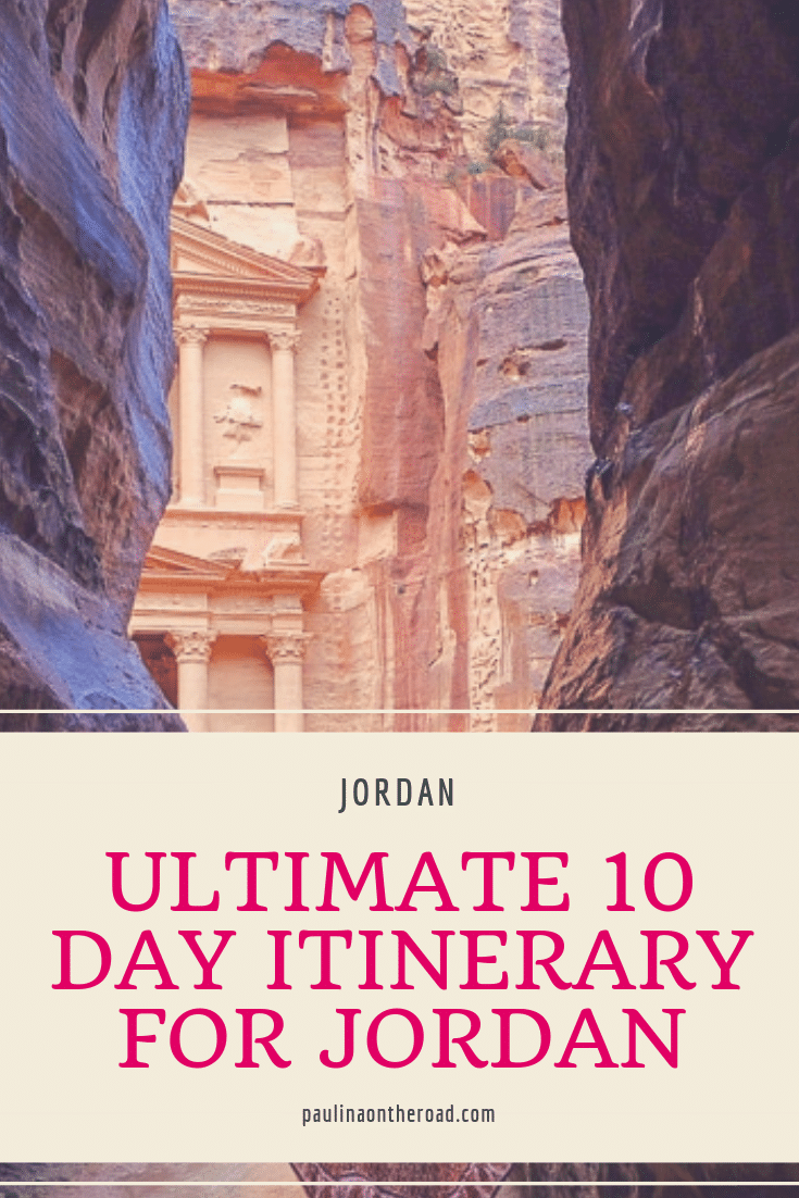 The Ultimate Jordan Itinerary: 10 Days Visit #traveltojordan