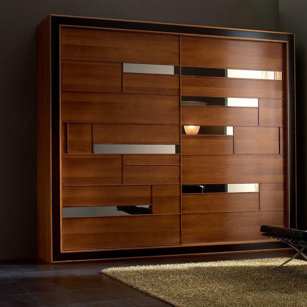 Cheap Bedroom Design Ideas Sliding Door Wardrobes: Modern Sliding Door Wardrobe
