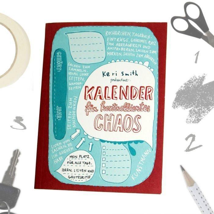 Kreativer Chaos Kalender | Geschenke für Lehrer / Lehrerinnen ...