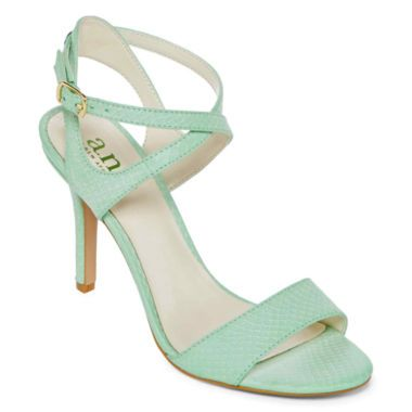 Open-Toe Strappy High Heel Sandals