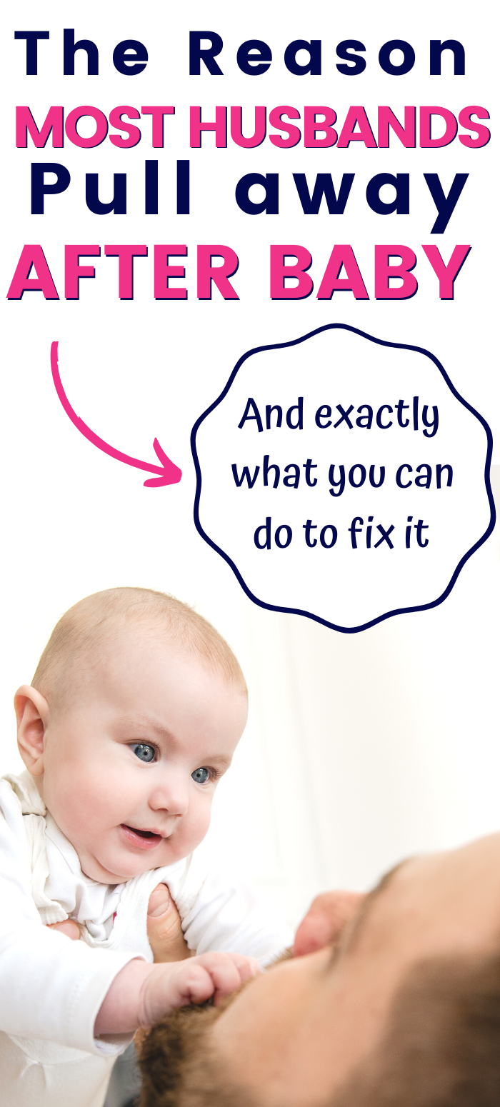 Husband pulling away after baby? Heres why.   After baby