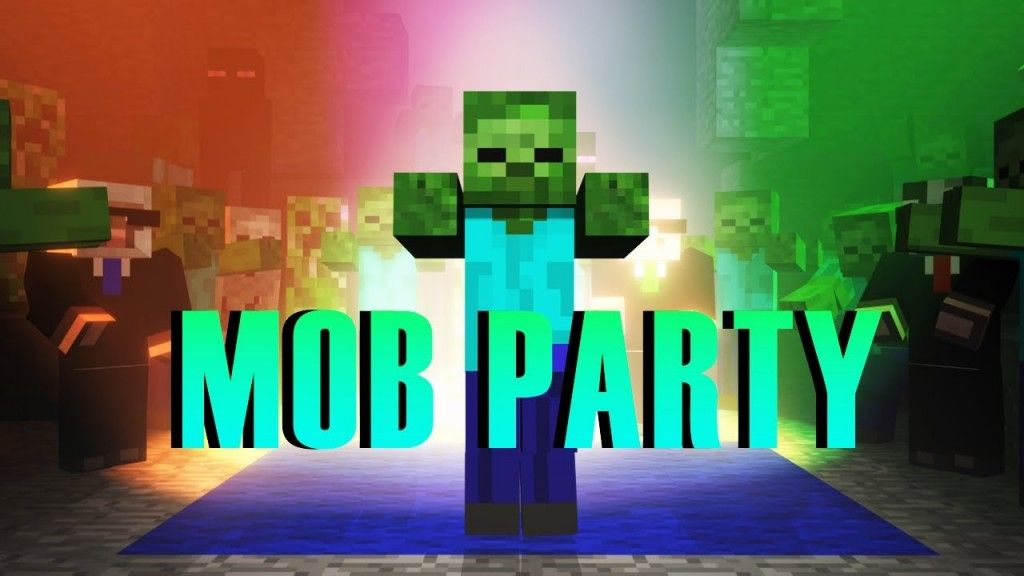 Minecraft Mob Dance Party – Animation | Free Online Music