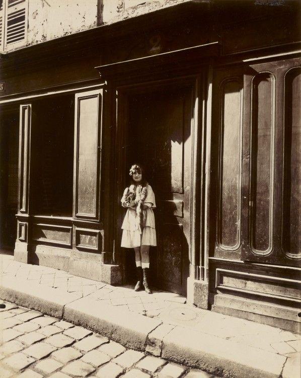 Le Paris De 1900 Par Atget Vieux Paris
