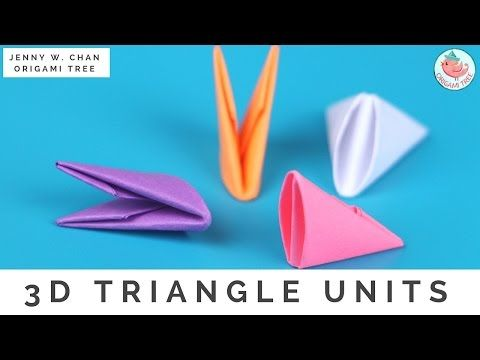 How To Fold 3D Origami Pieces