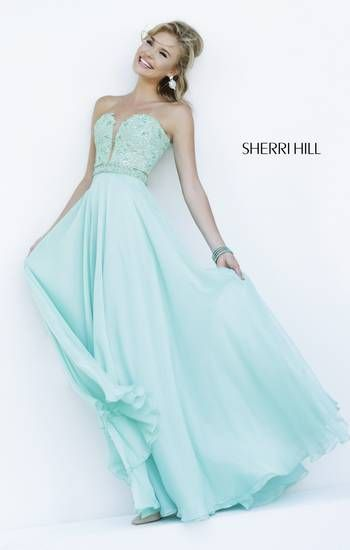 Sherri Hill prom dress for Spring 2015. omg i love it ...