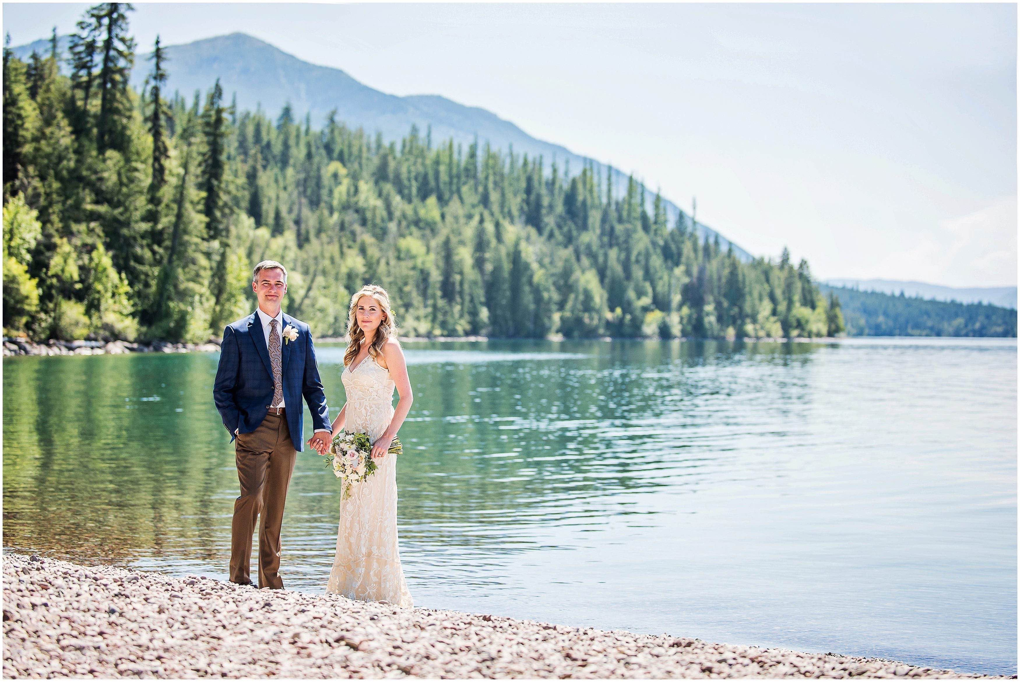 Kate and Mikal were married July 18 on the north shore of Lake McDonald in Glacier National Park with a reception at The Belton Chalet in West Glacier. It's wedding like these that make me love being a wedding photographer in Glacier National Park.  Small, intimate, romantic. Your closest family and friends surrounding you and …