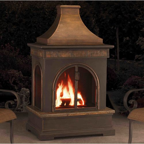 Found It At Wayfair Hardy Slate And Steel Outdoor Fireplace Outdoor Fireplace Fireplace Patio Heater