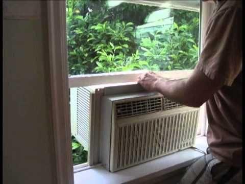 Window Air Conditioner Installation Window Air Conditioner