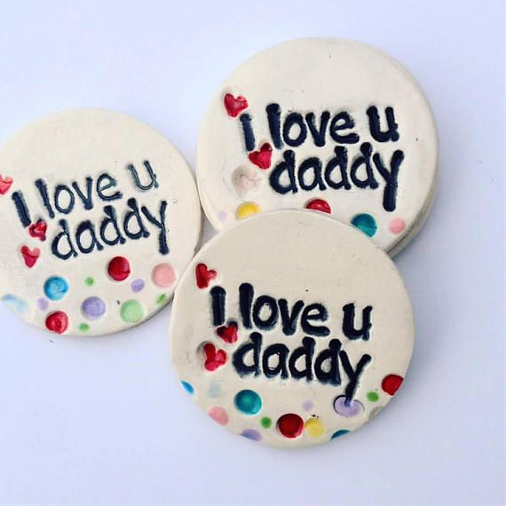 fathers day magnet i love you daddy magnet love you daddy gift
