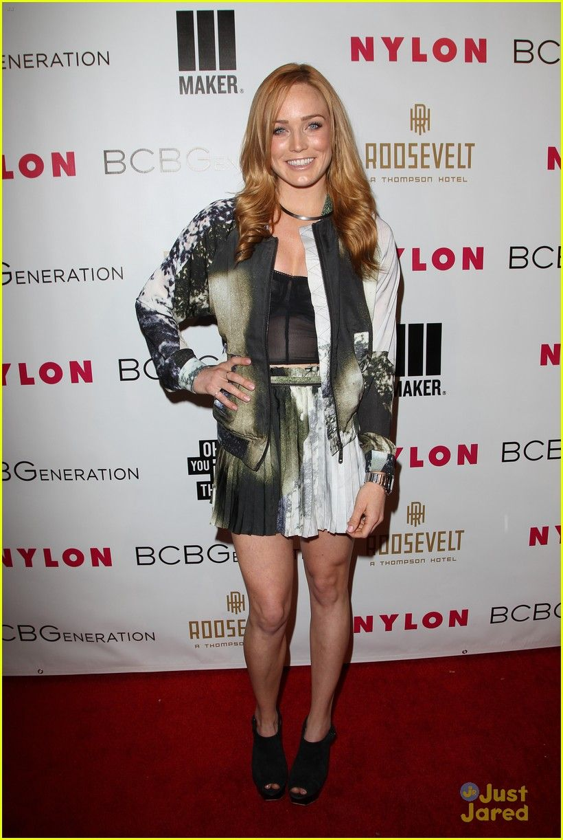 Caity lotz on the red carpet at the nylons young hollywood party drake bell bethany joy lenz hit up nylons young hollywood party photo drake bell shows off his rockability style on the red carpet at the nylon kristyandbryce Images
