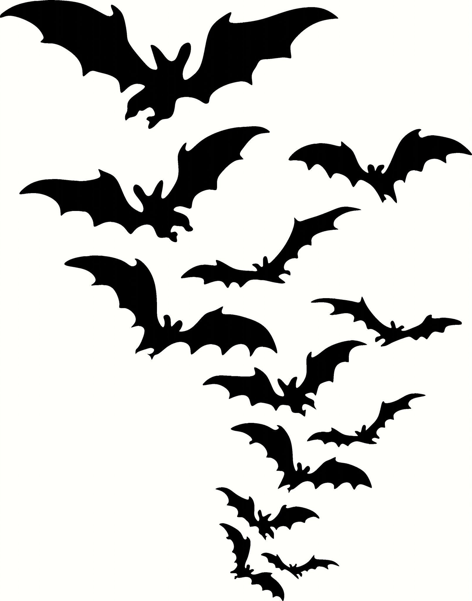 halloween bats vinyl cut out decal sticker in your choice of