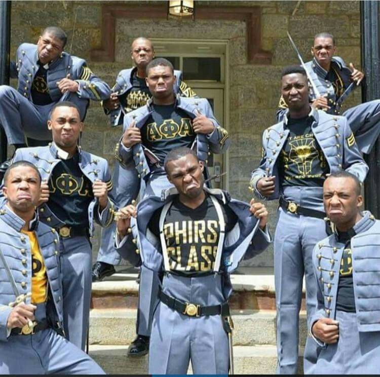 Yes Sir Alpha Phi Alpha Alpha Phi Alpha Fraternity Black