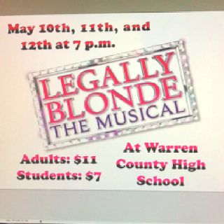 The Beautiful Flyer Robin Made Thankssss D Legally Blonde Musical Legally Blonde Flyer