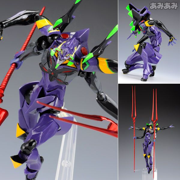 Evangelion Type-13 Action Figure Kaiyodo Revoltech Yamaguchi 136